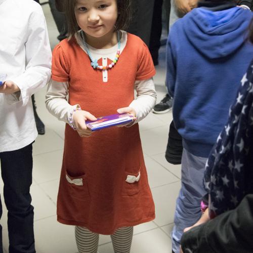 Lily MOREAU en moyenne section en 2015 fait sa rentrée 2016 en CP