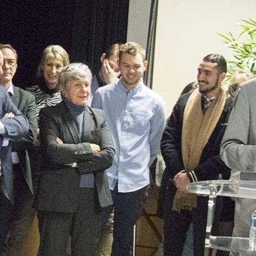 Le 17 décembre, les élus félicitaient les élèves les plus assidus