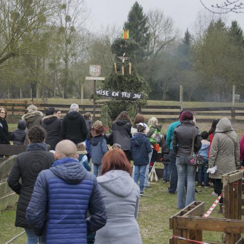 Mardi Gras à la ferme pédagogique à Romilly-sur-Seine