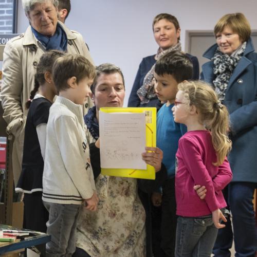 Les élèves de Mignonnette écrivent à l'école à Gambetta