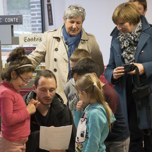 Les élèves de Romain Rolland écrivent à l'école Mignonnette