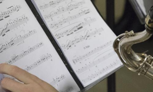 Audition des classes de vents et de percussions