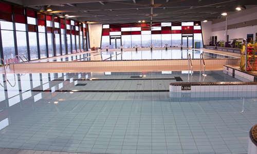 Réouverture du centre aquatique
